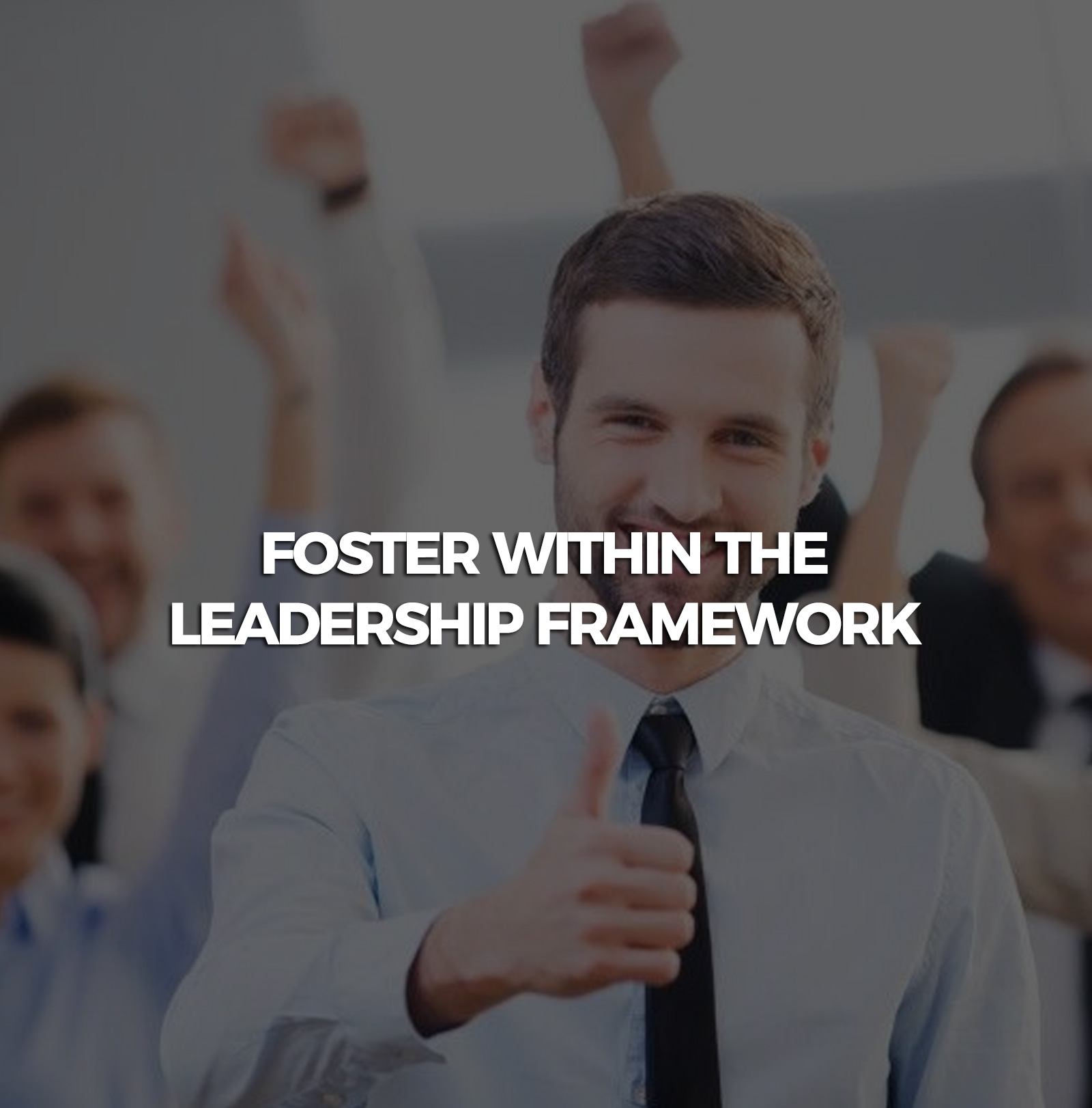 Fostewithin-the-leadership-framework